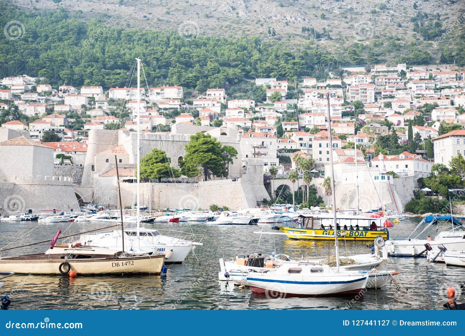 Fotografia statki i łodzie w Dubrovnik