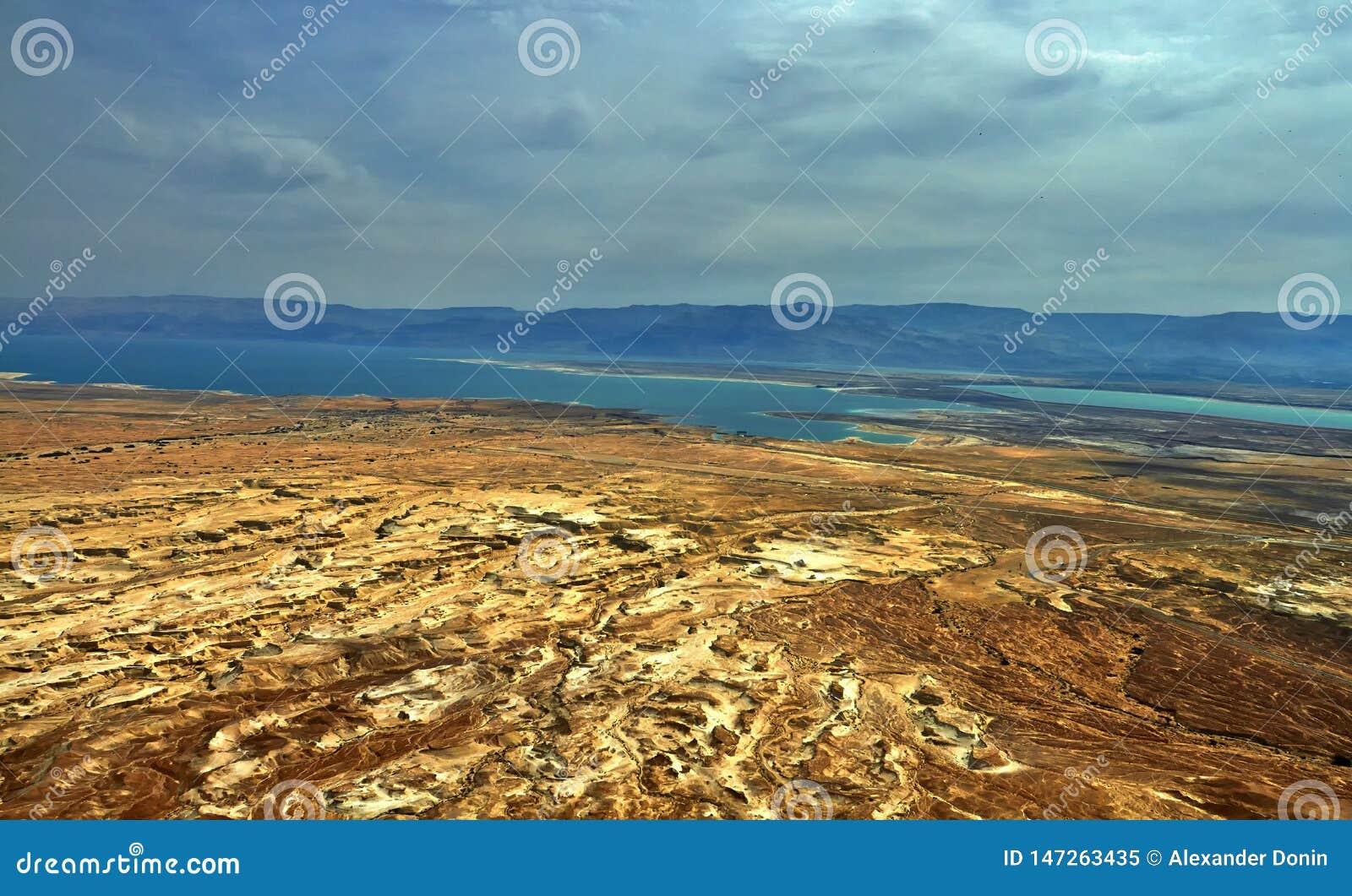 Fotografia widok Nieżywy morze