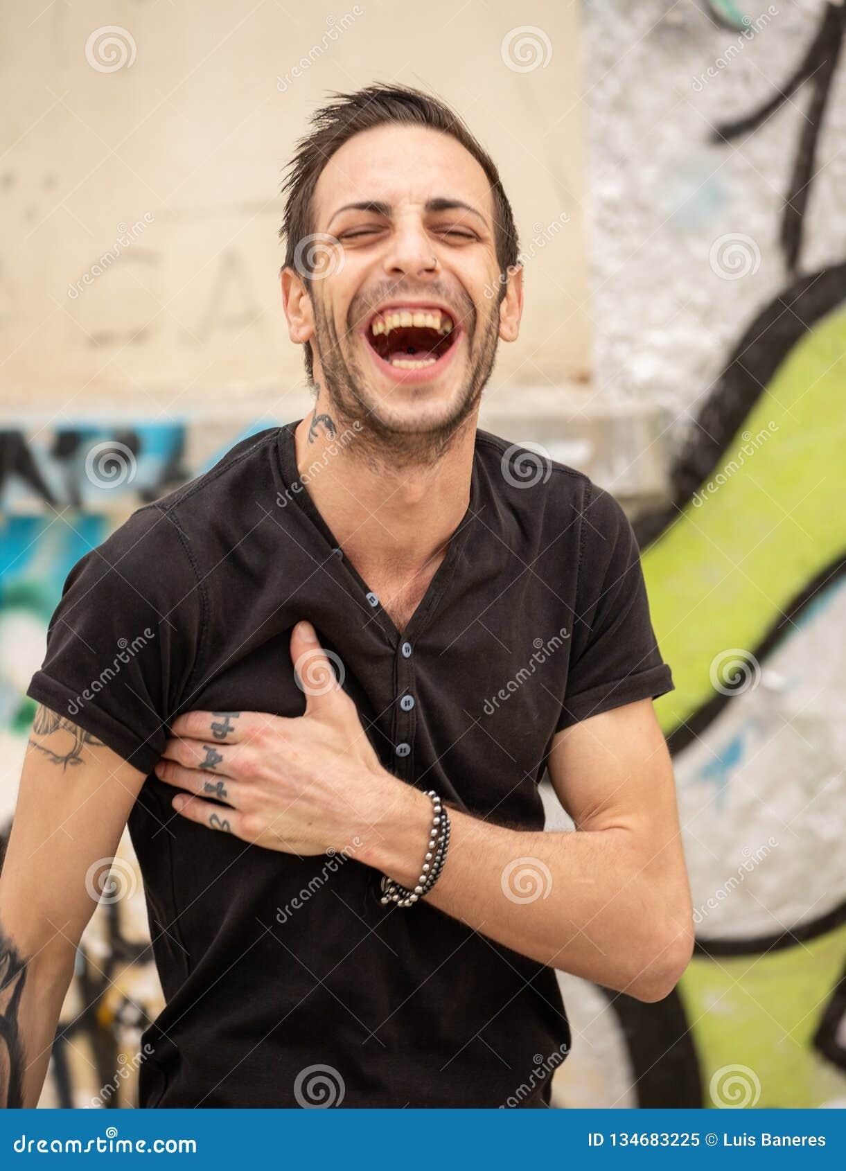 Fotografie van gelach en vreugde