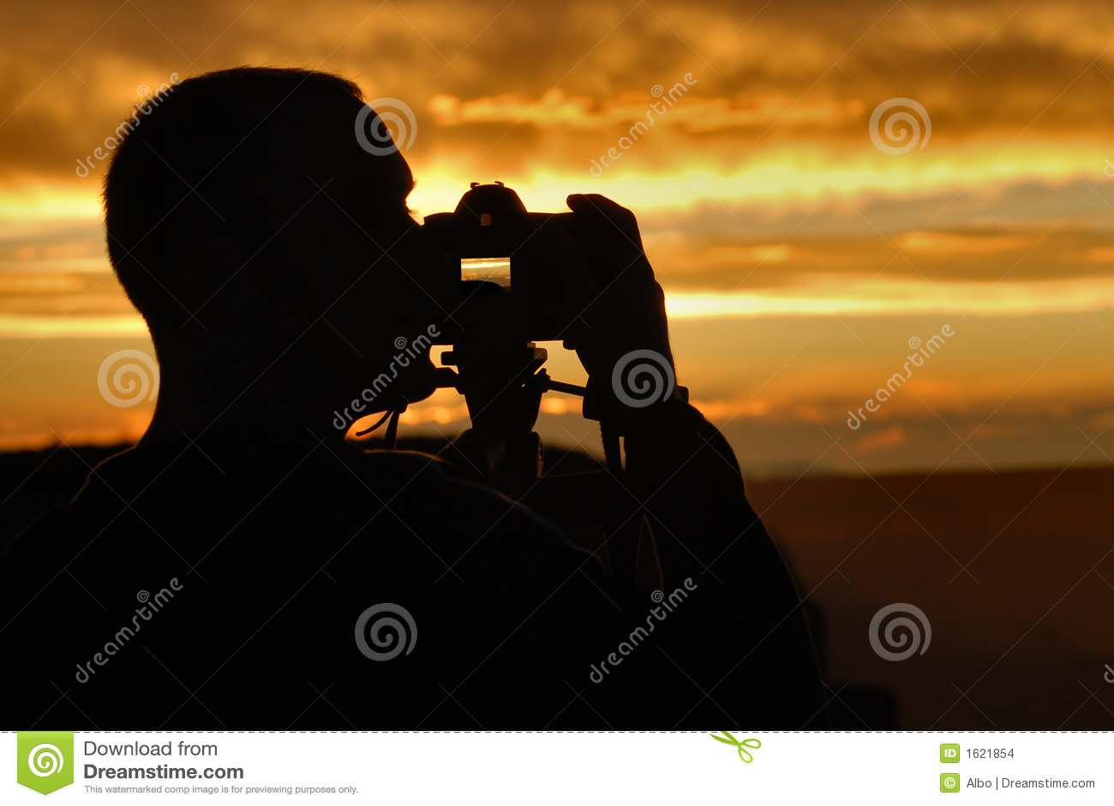 Fotografo di tramonto