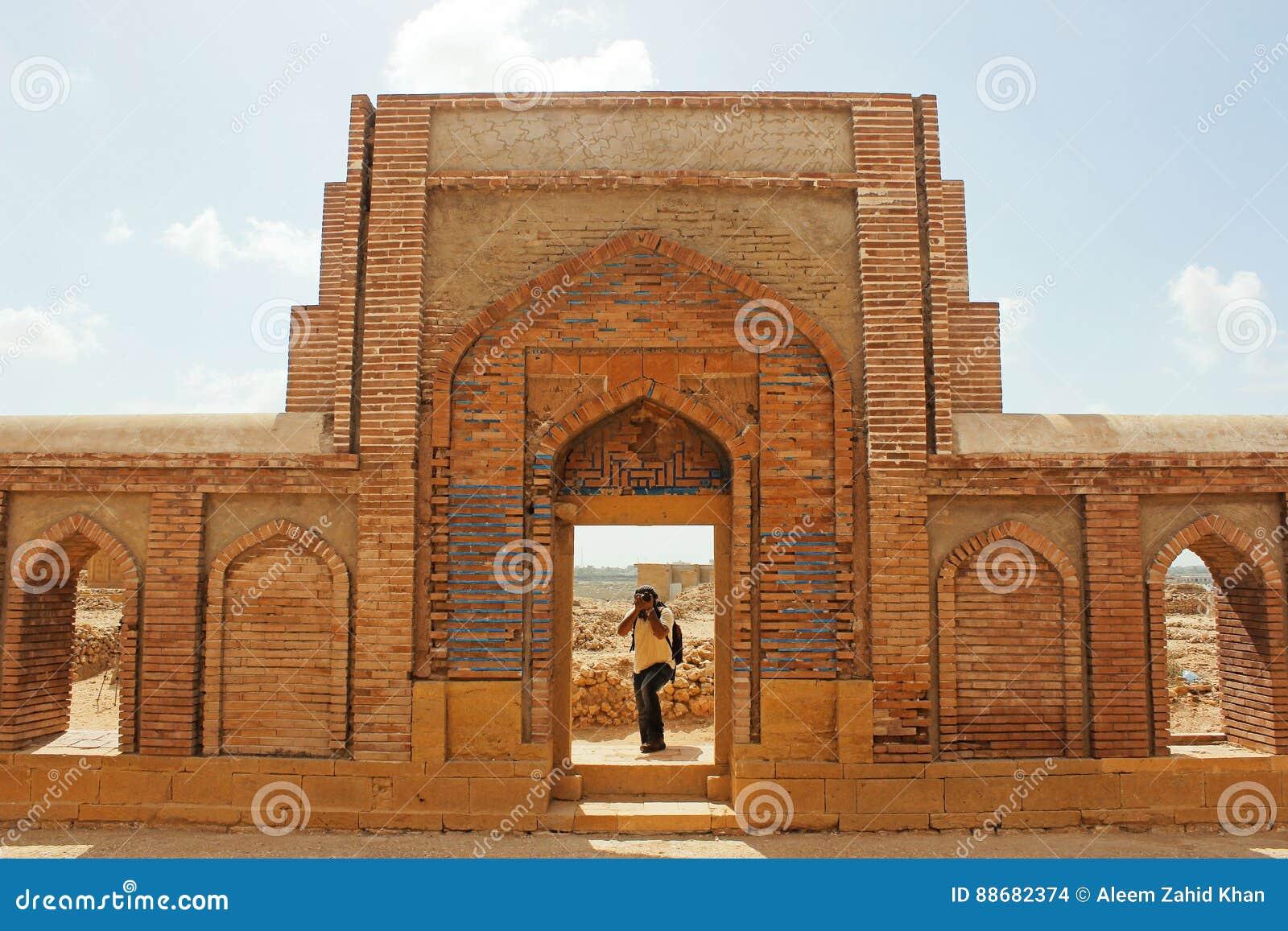 Fotografo - parete scolpita Beautifuly con arte islamica