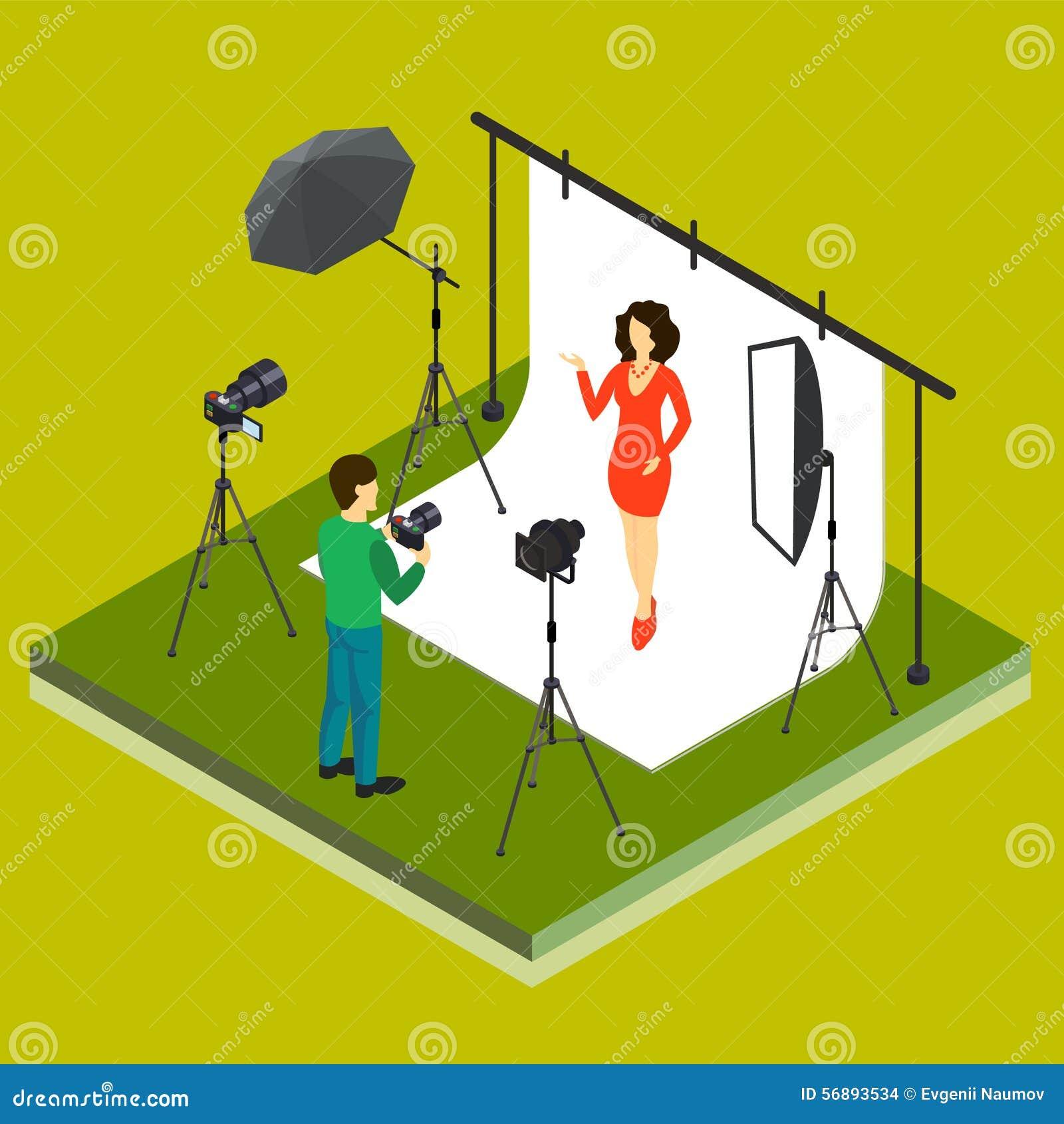Fotografo Shooting Model in studio