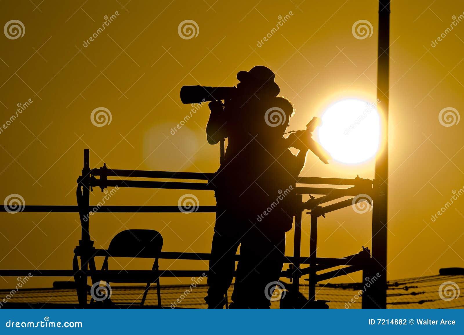 Fotografskyttesolnedgång
