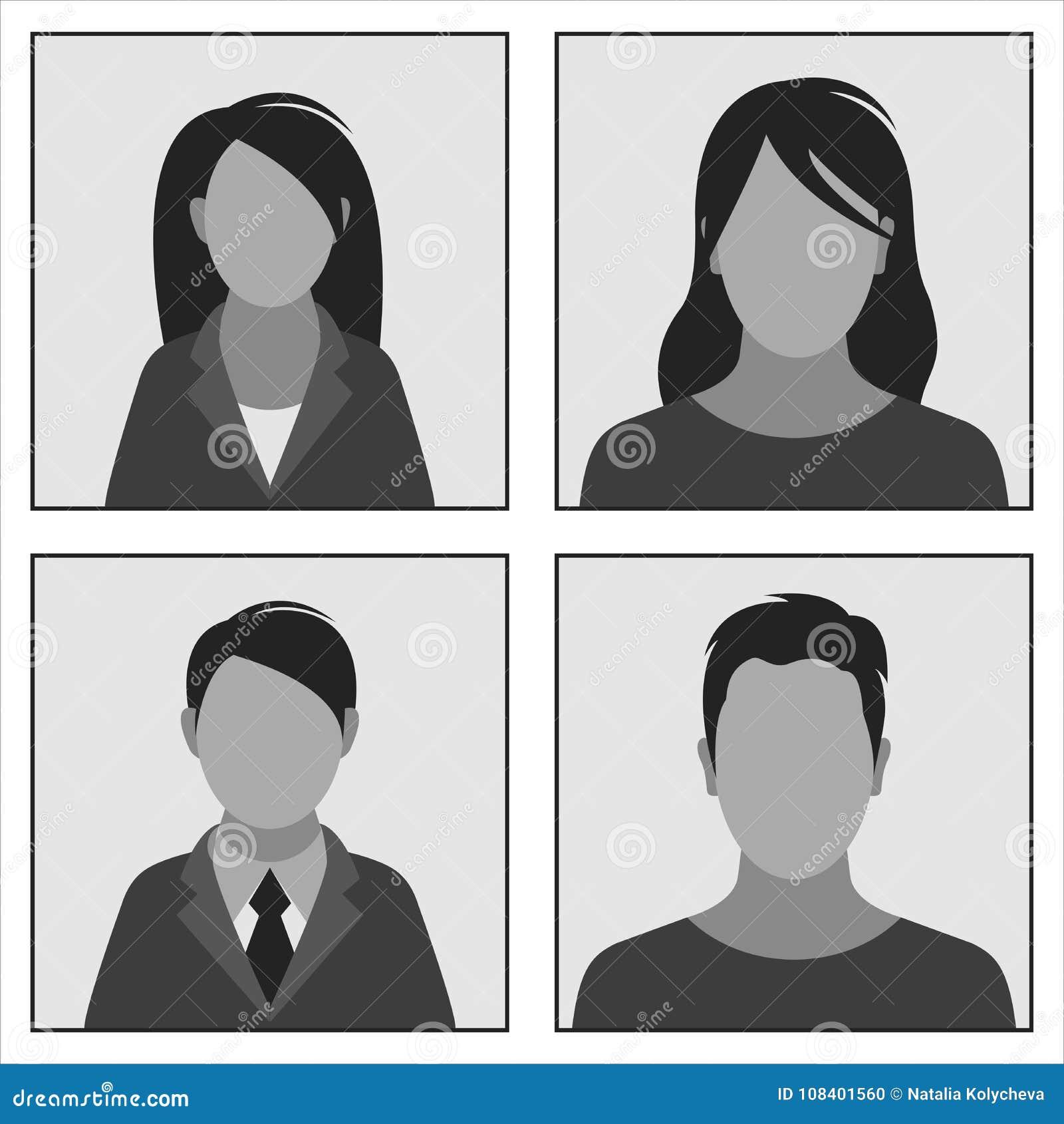 Fotos De La Identificación De Las Plantillas Ilustración del Vector ...