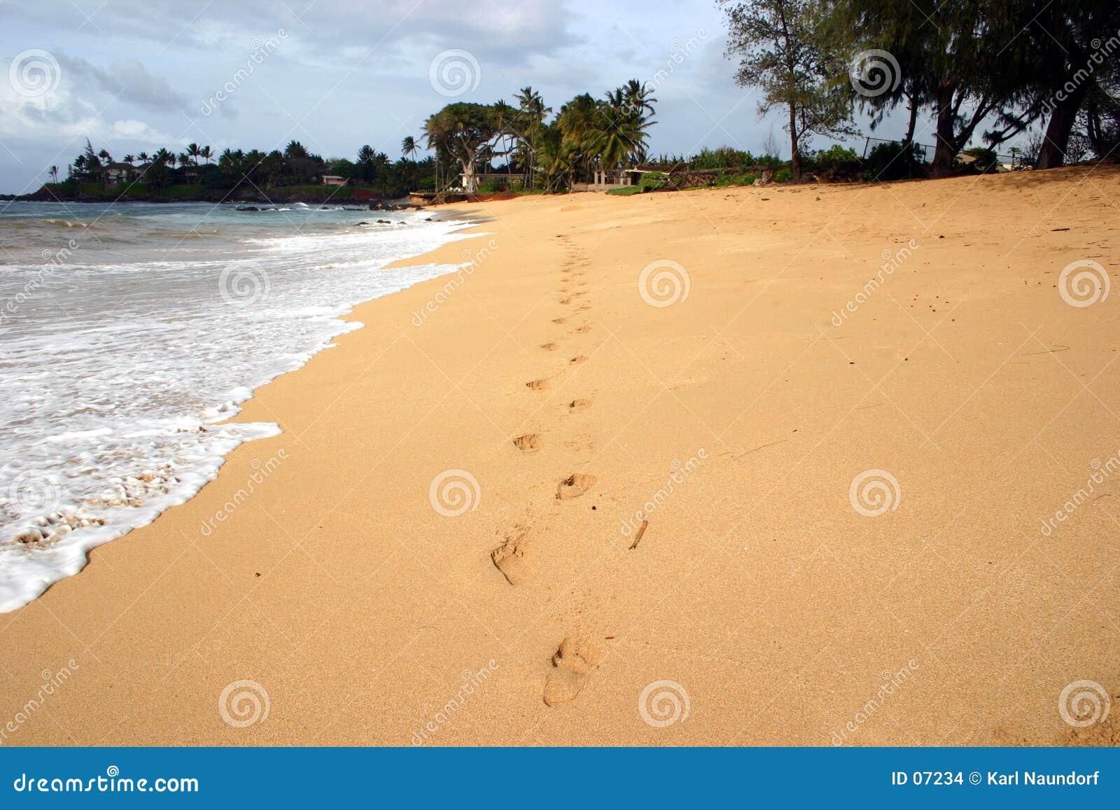 Fotspårsand