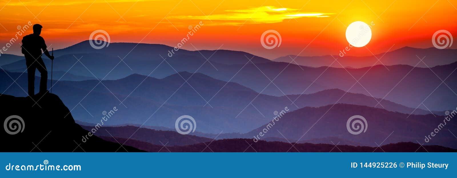 Fotvandra berg