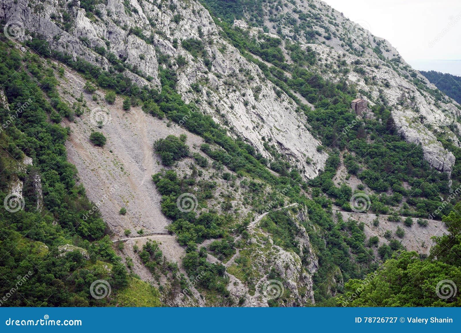 Fotvandra bergtrail