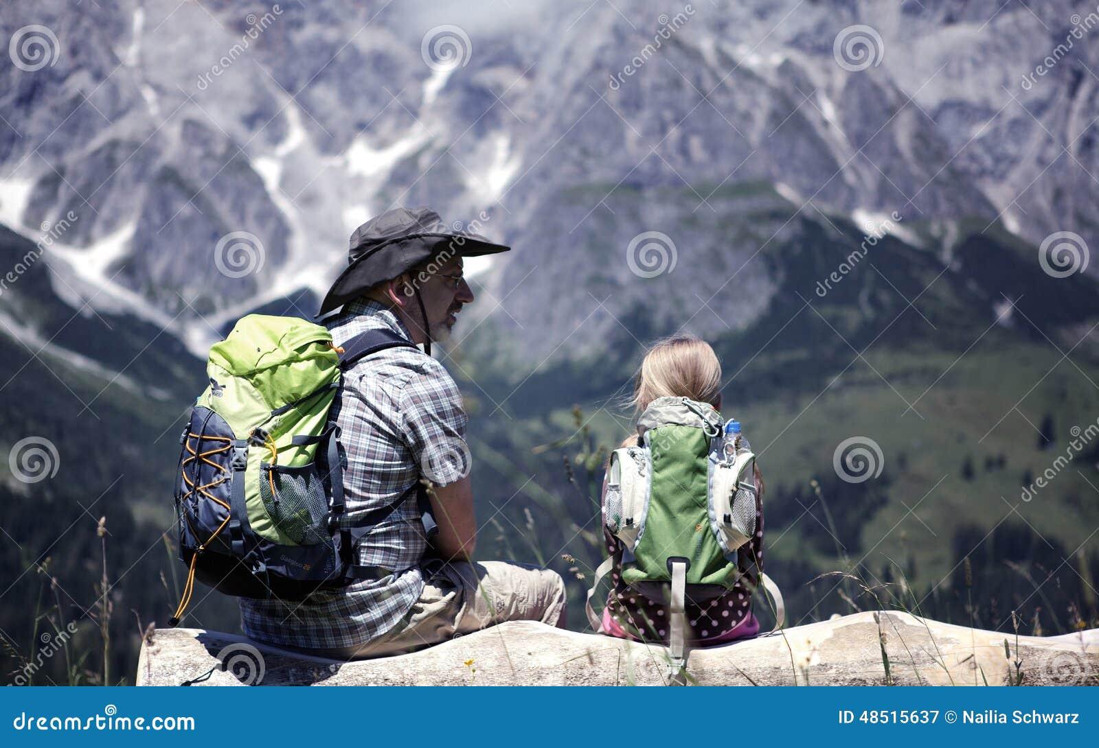 Fotvandra för alps
