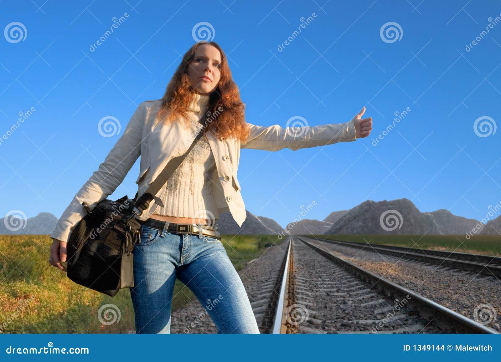 Fotvandra järnväg för hake 3