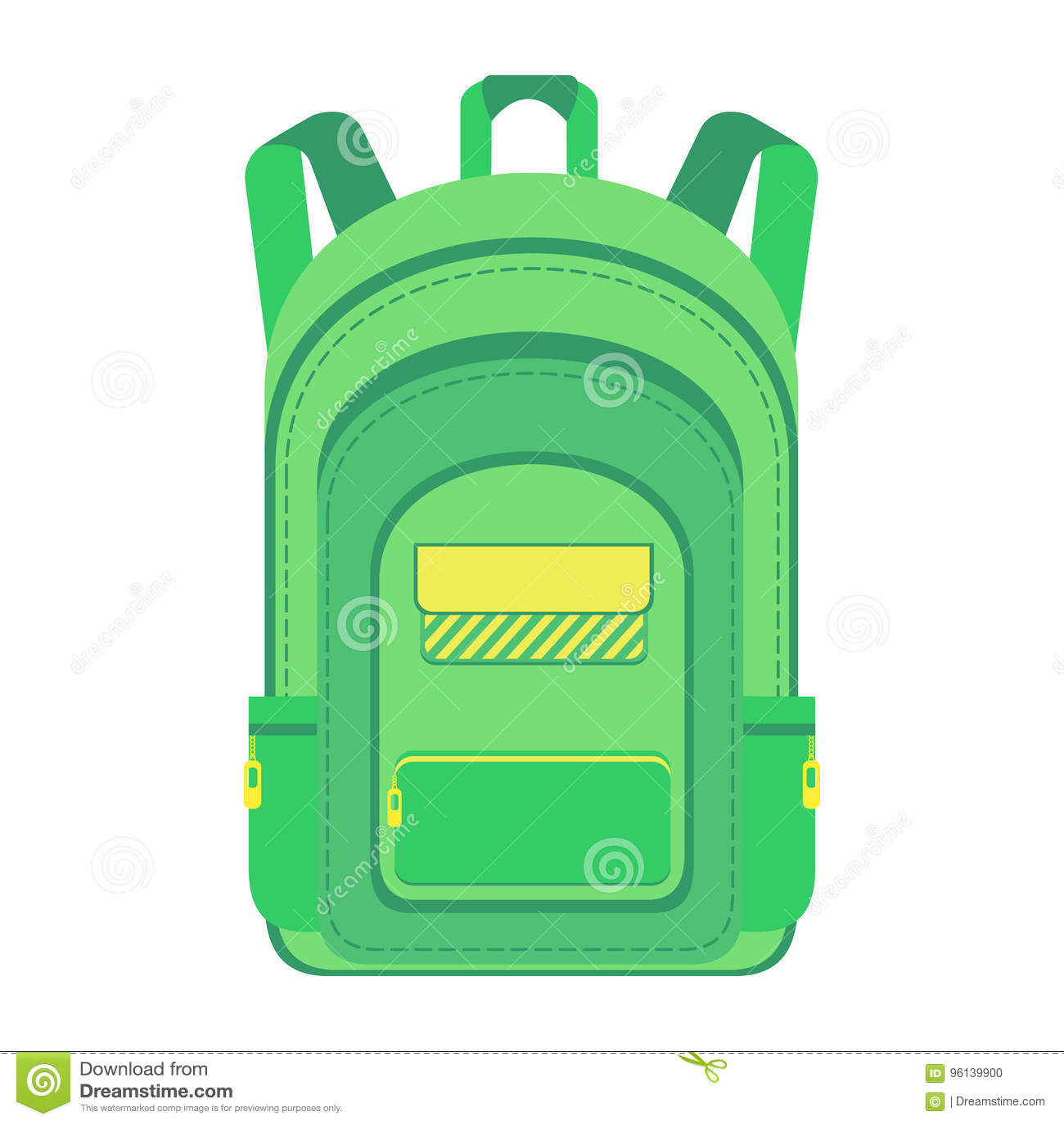 Fotvandrare schoolbag