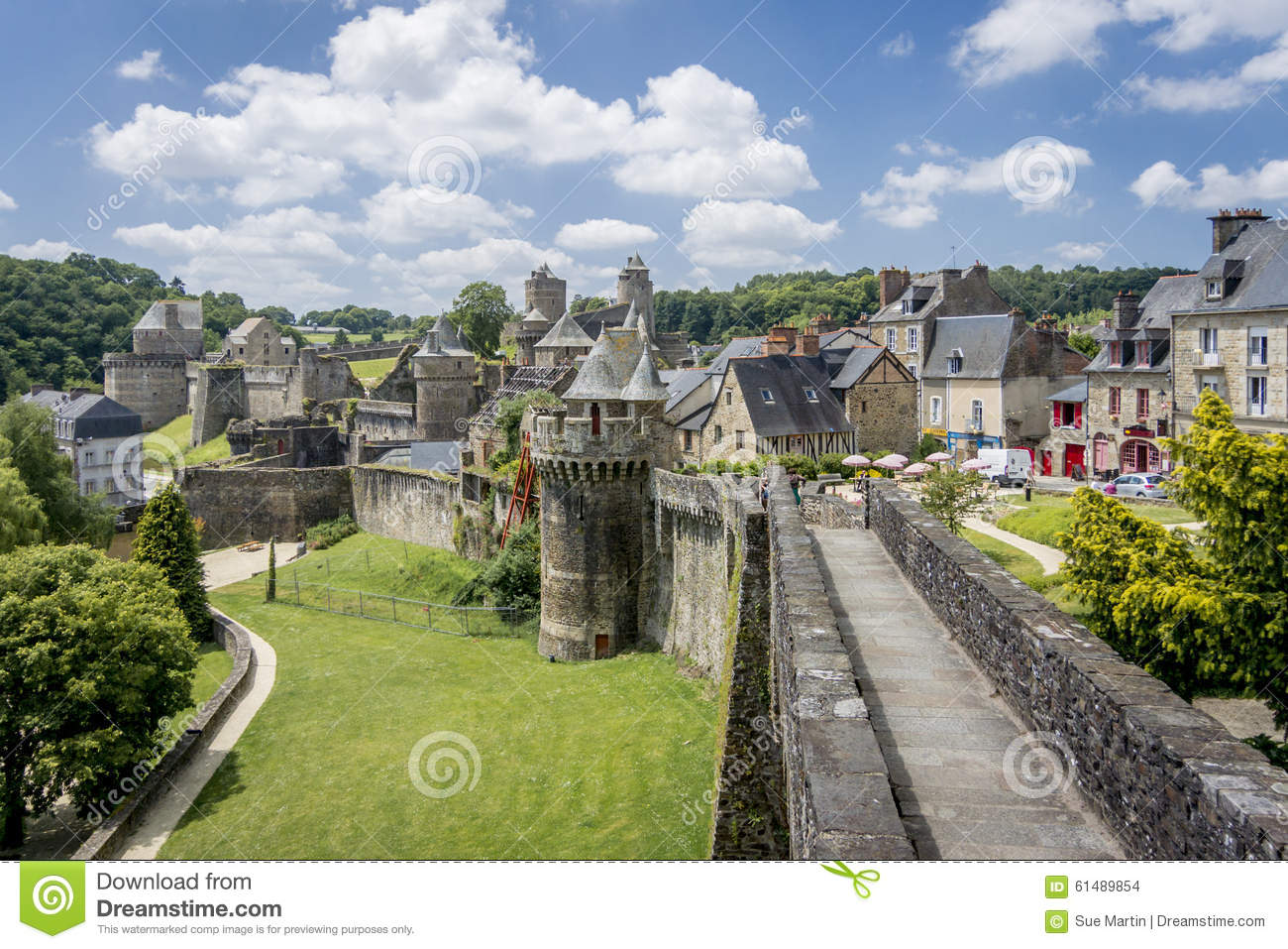 Fougeres City Wall