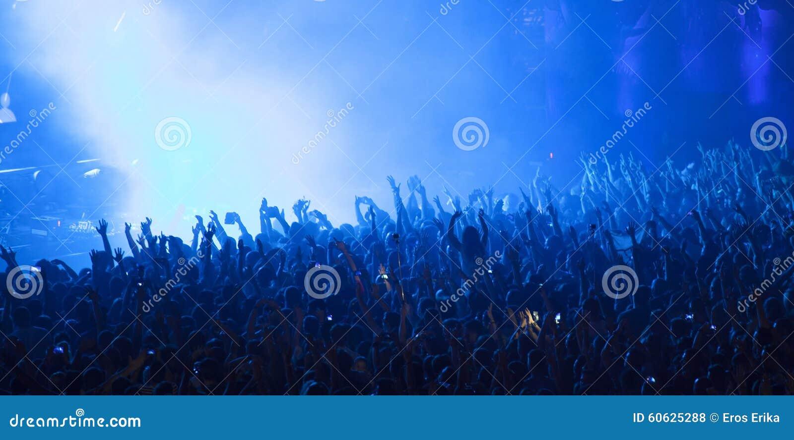 Foule au concert