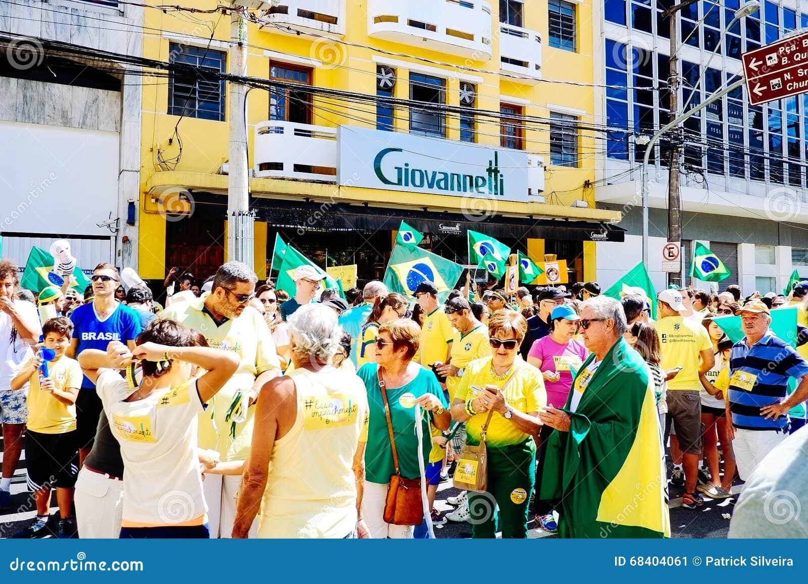 Foule brésilienne