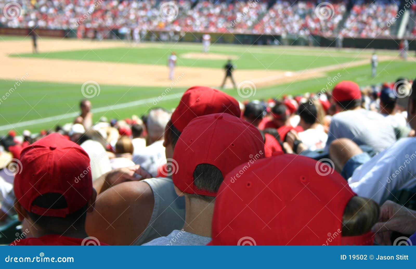Foule de base-ball