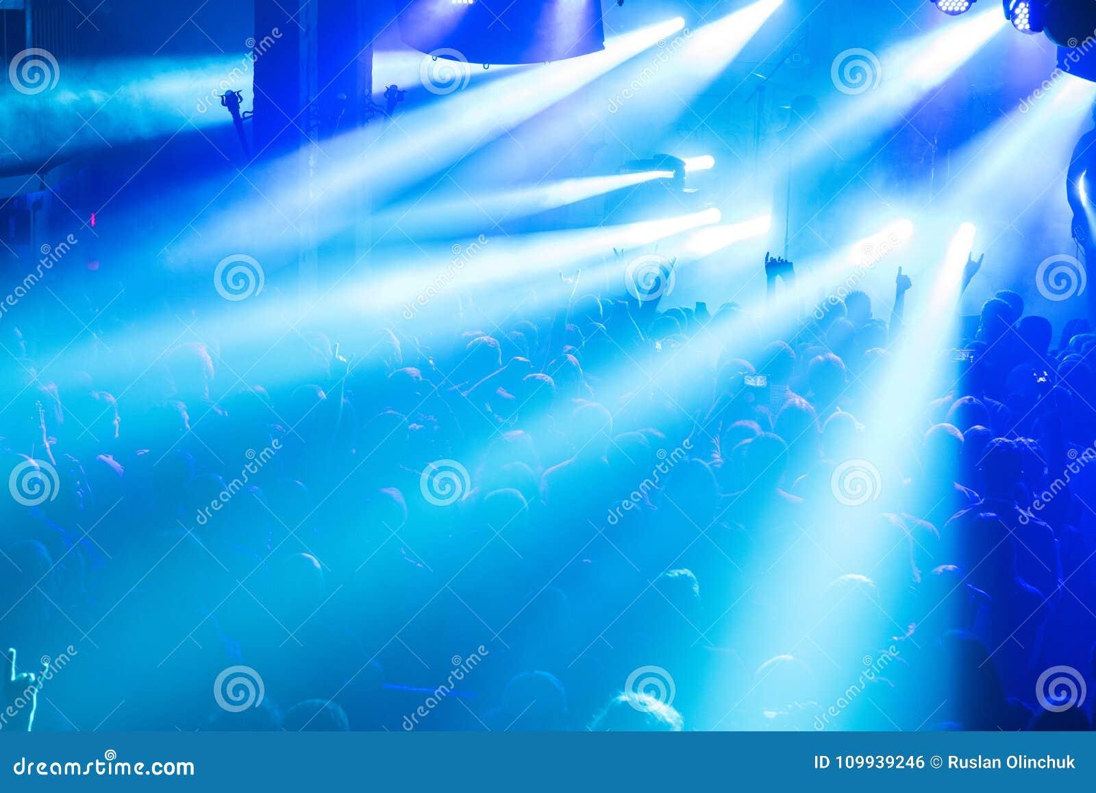 Foule de concert de rock