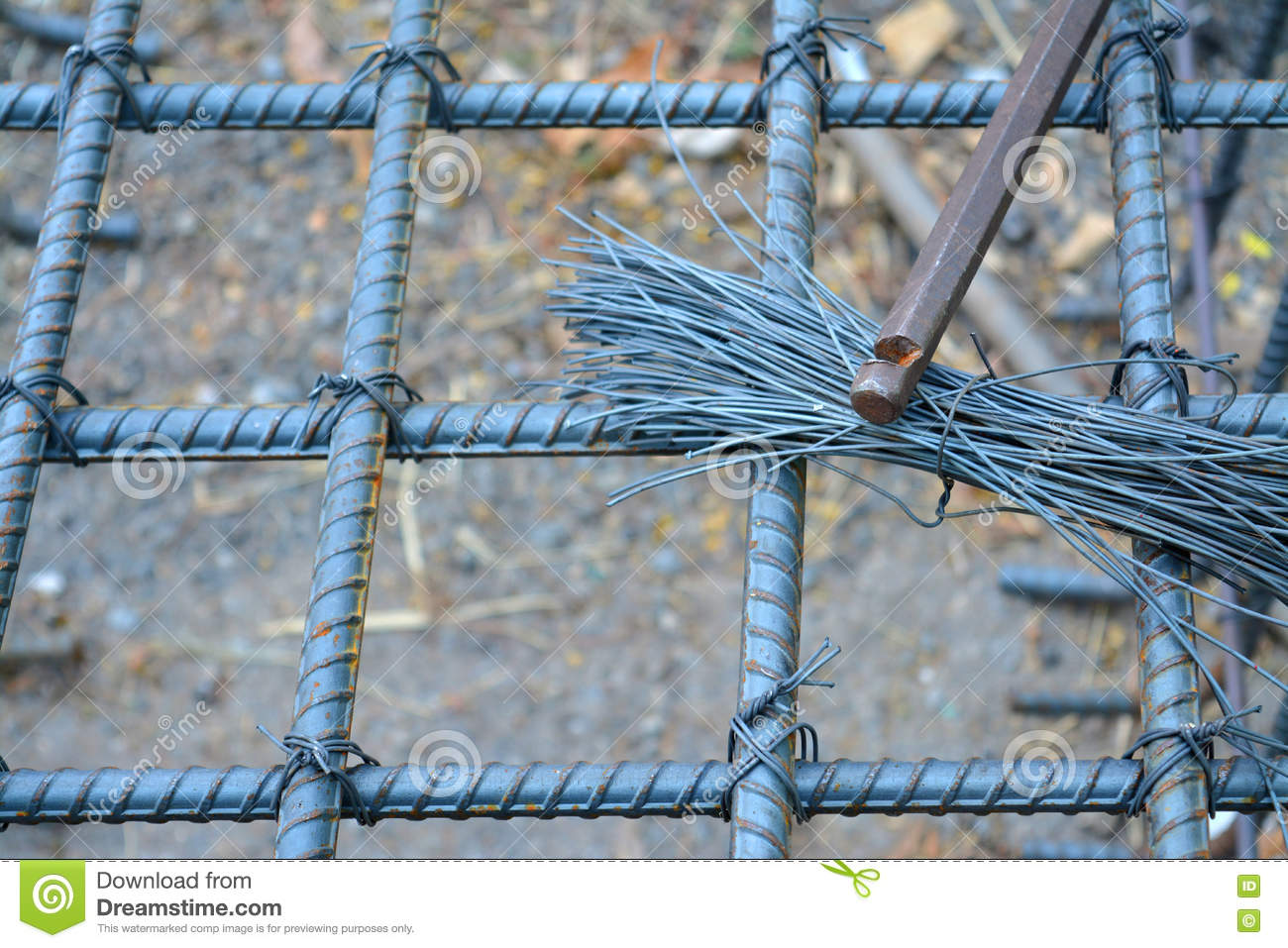 Foundation post metal stock image. Image of grunge, hard - 76850085