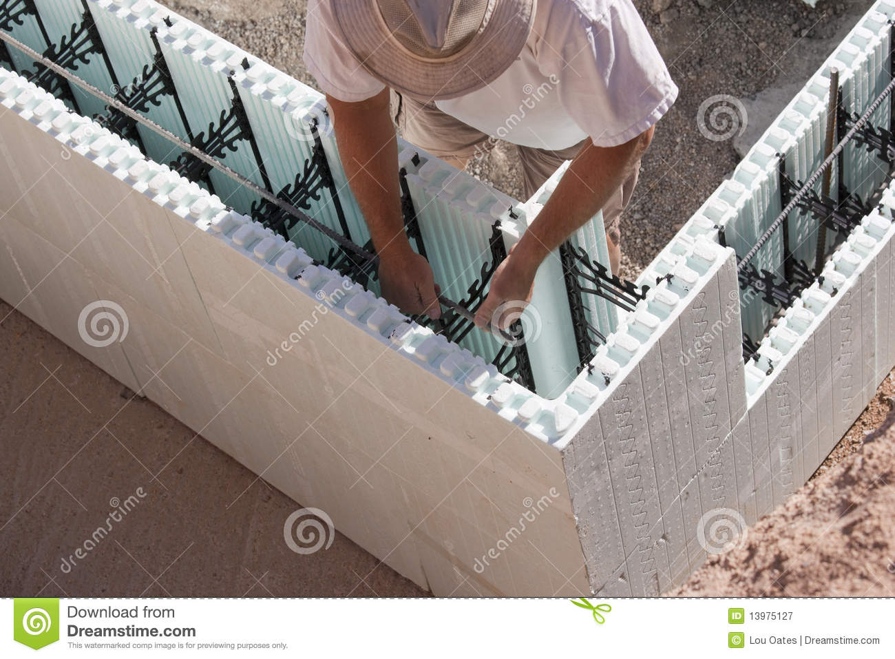 Foundation1 royalty free stock photography image 13975127 for Insulating basement floor before pouring