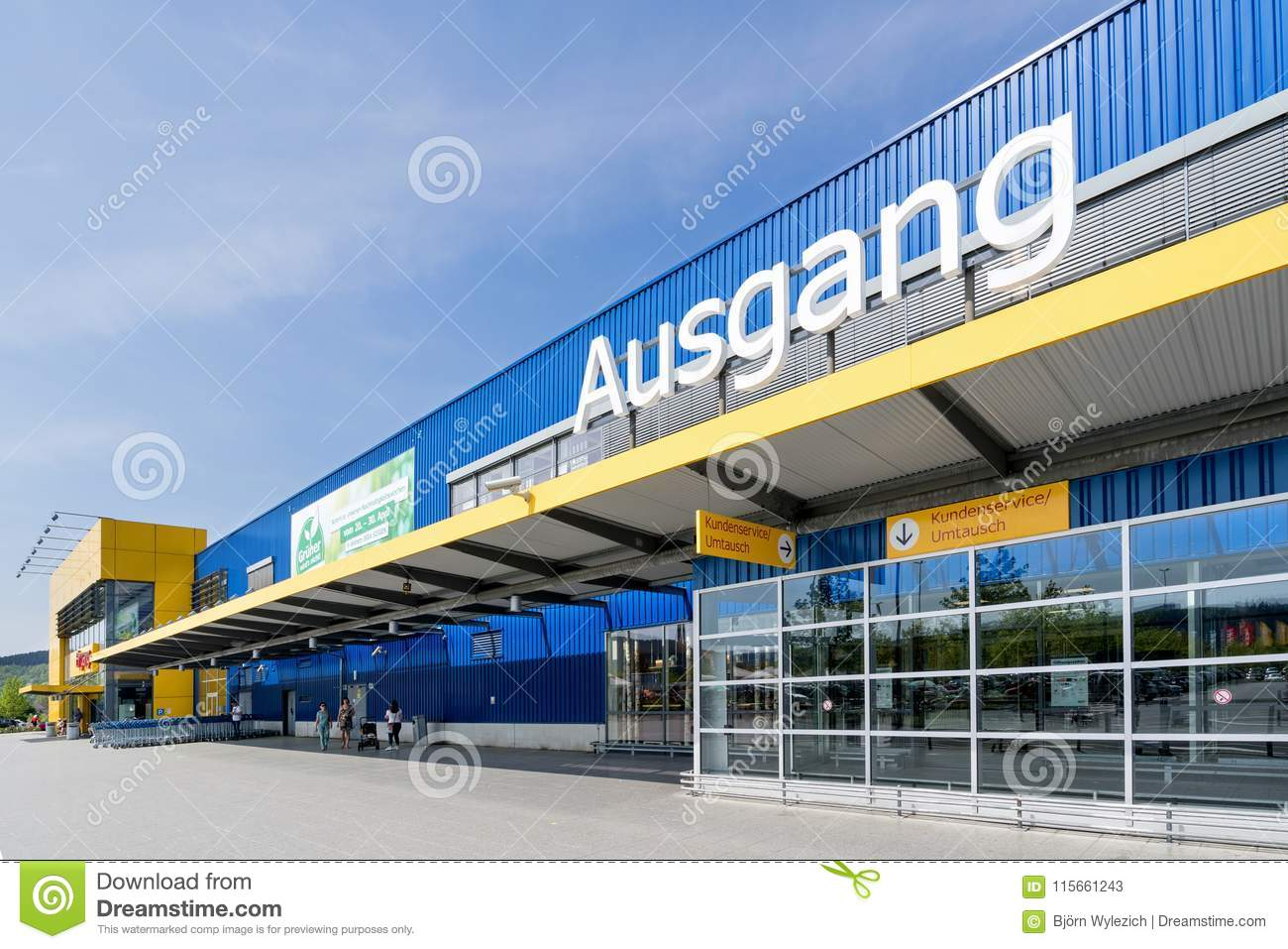 Ikea Store Editorial Stock Photo Image Of Sign Logo 115661243