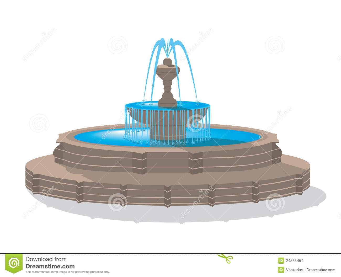 Water Fountain Clip Art \x3cb\x3ewater fountain\x3c/b\x3e stock ...