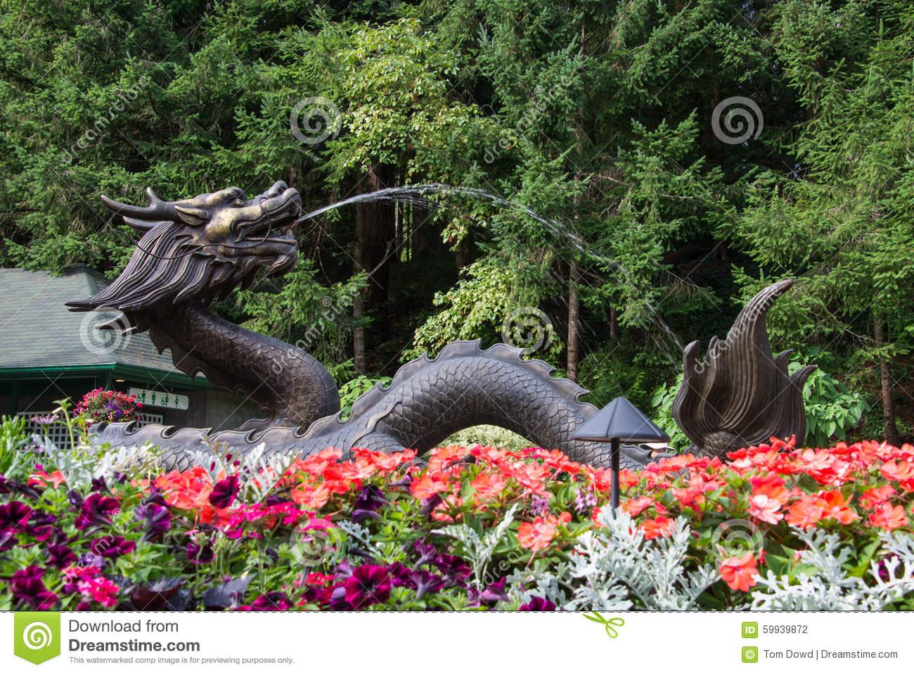 Fountain butchart gardens victoria bc canada stock photo fountain butchart gardens victoria bc canada thecheapjerseys Choice Image