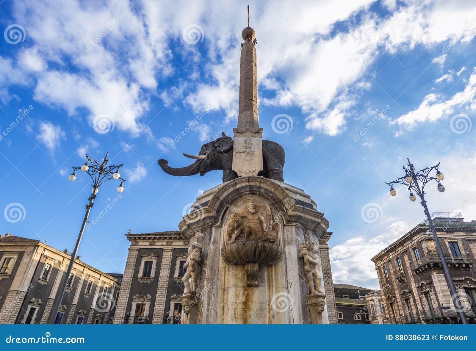 Fountain in Catania