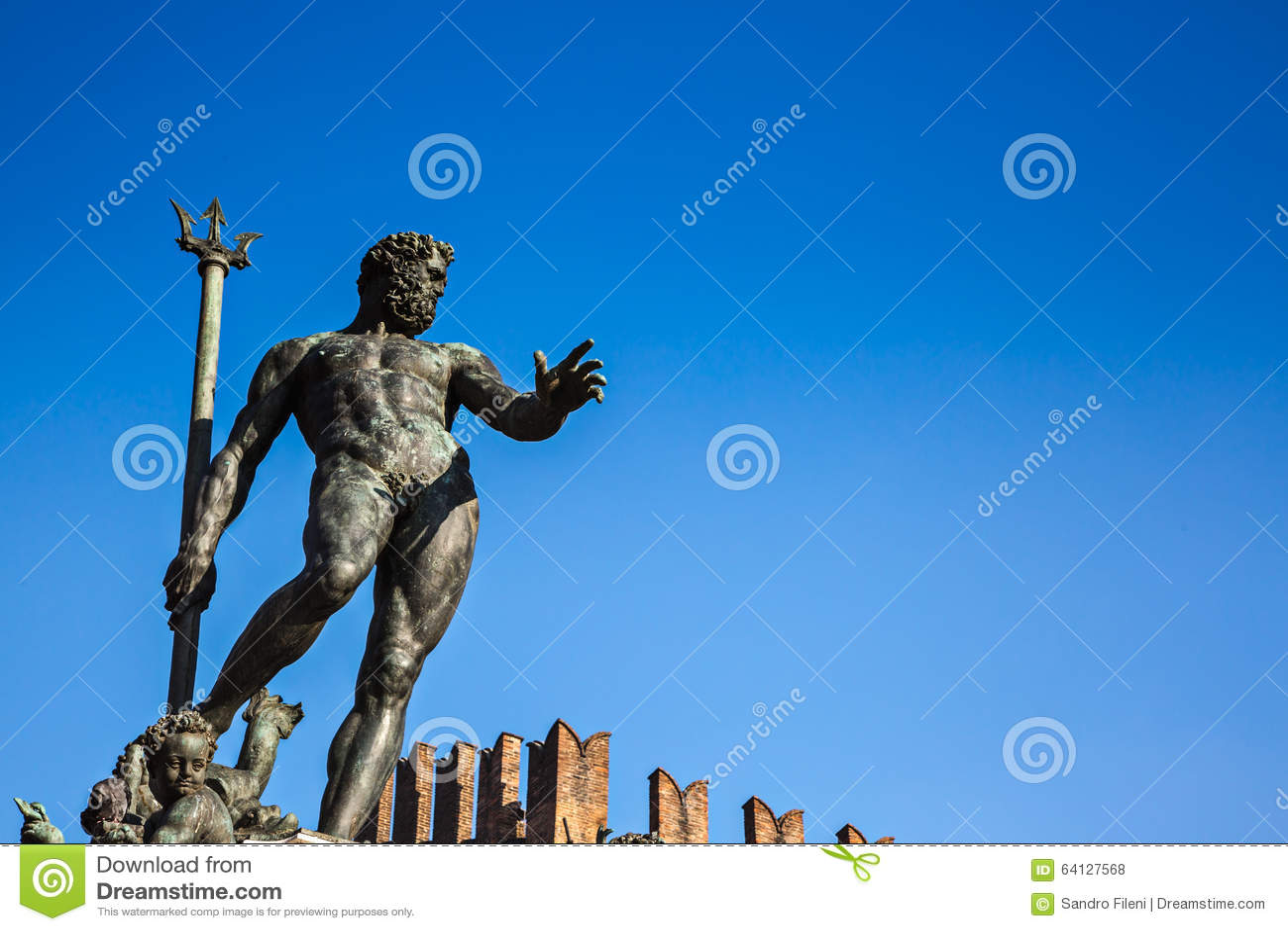 Fountain of Neptune, Bologna, Italy
