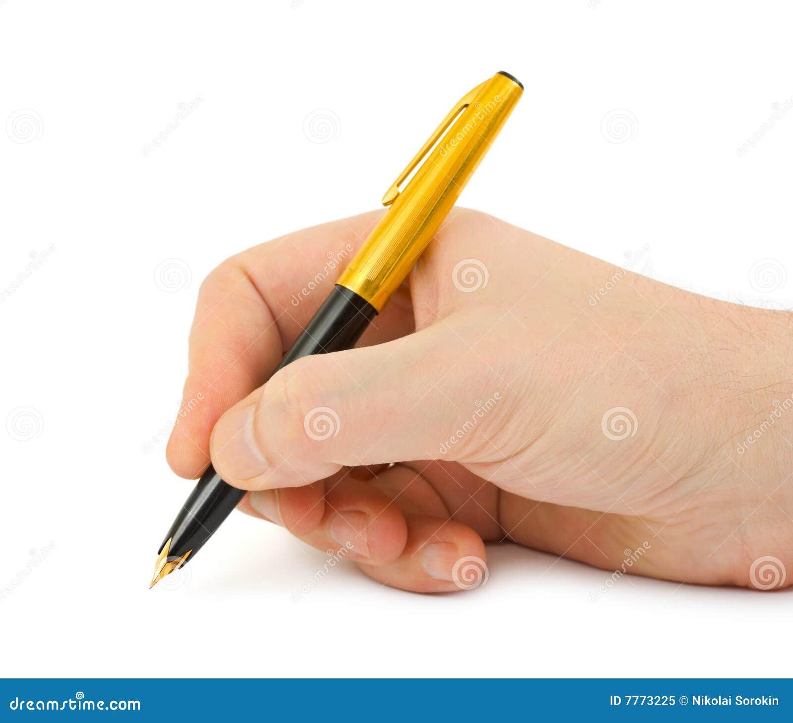 Oxford left handed cartridge pen