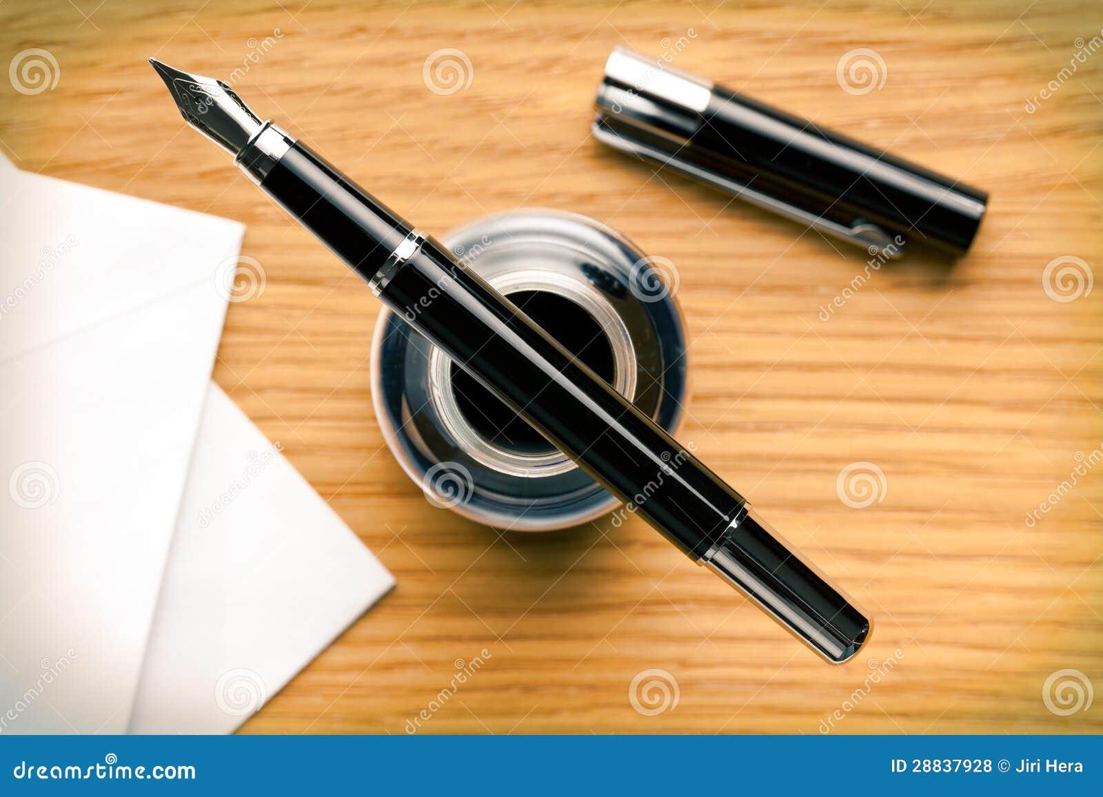 Как сделать ручку перо