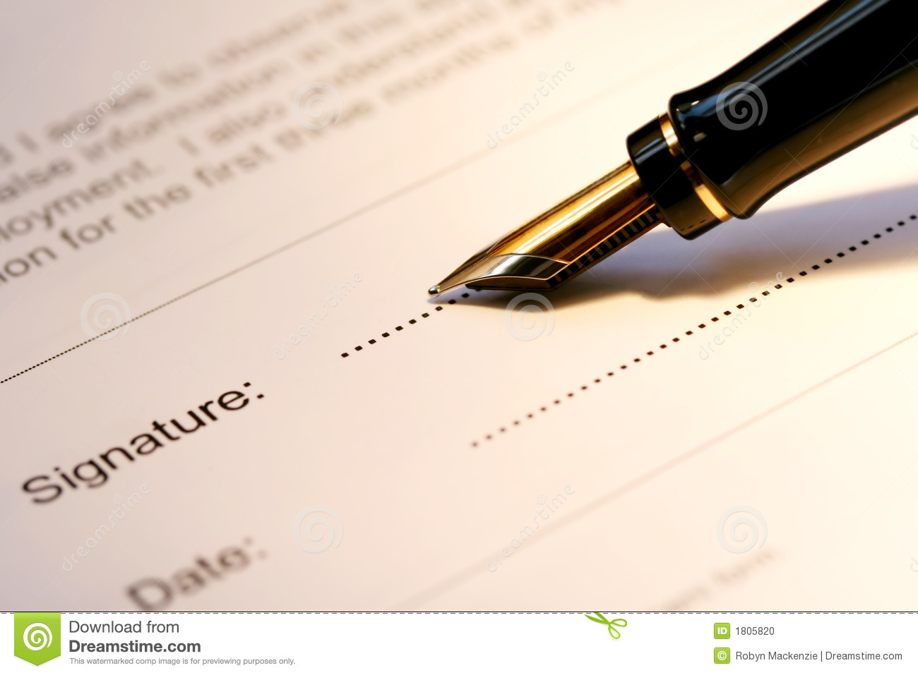 fountain pen signing stock photo  image of finance  write