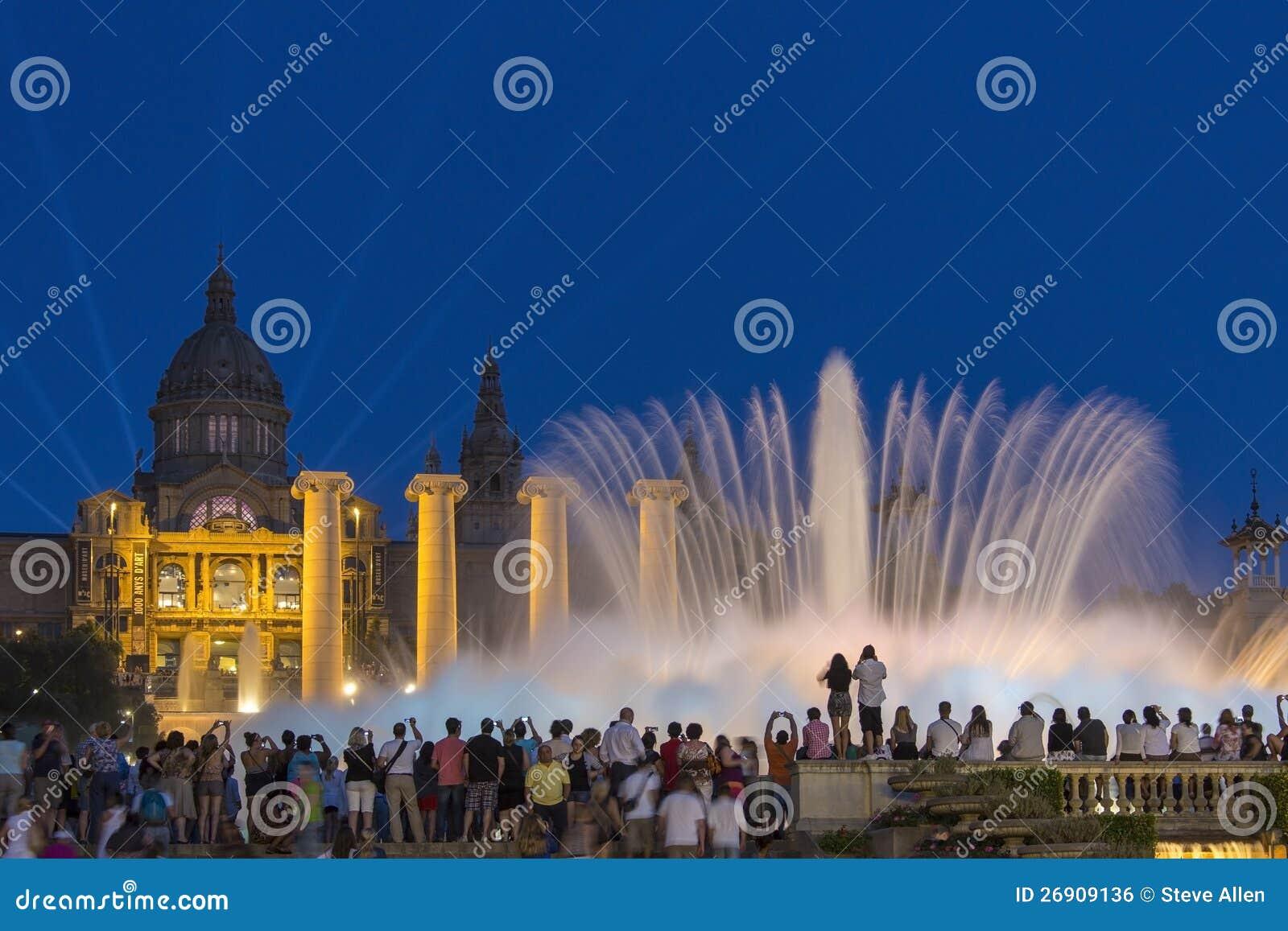 Fountains - Barcelona - Spain