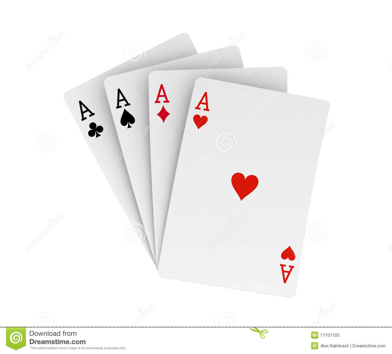 four aces stock illustration illustration of luck hand 11101105. Black Bedroom Furniture Sets. Home Design Ideas