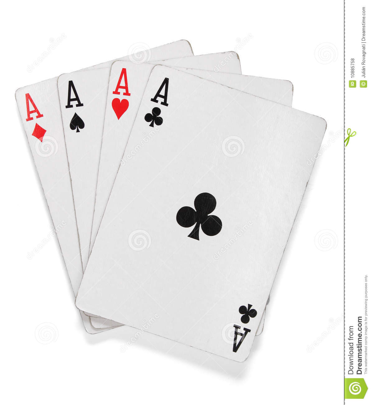 picture of aces cards poker
