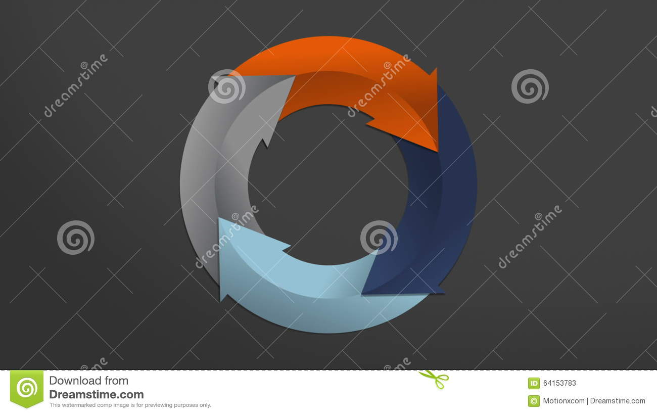 Four arrow circle flow chartpowerpoint presentation template four arrow circle flow chartpowerpoint presentation templateincluded alpha stock video video of arrow intro 64153783 ccuart Image collections