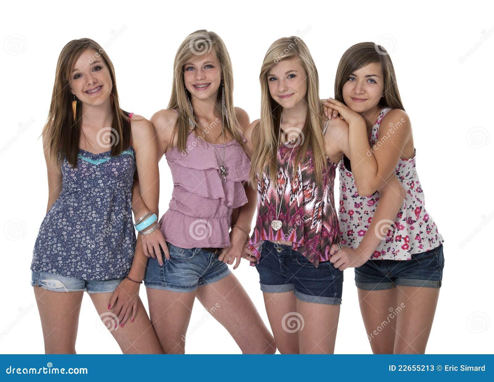 Студийные фото девочек подростков 2 фотография