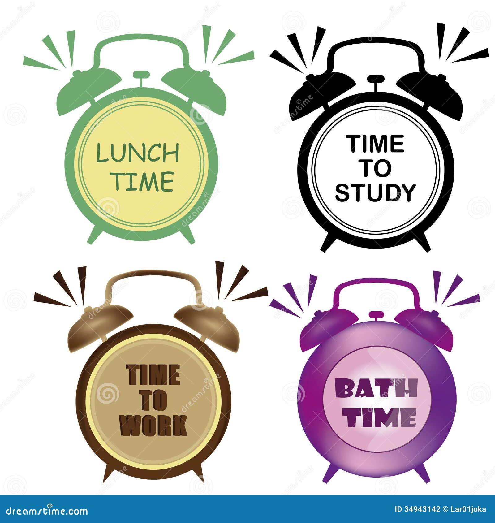four clocks stock photography image 34943142