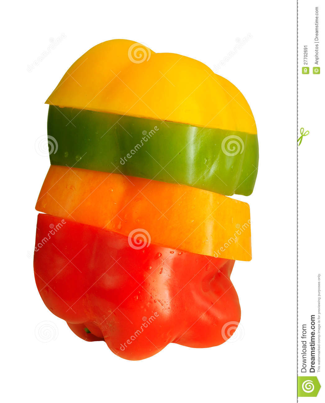 Download Four colorful bell peppers stock image. Image of sweet - 27702691