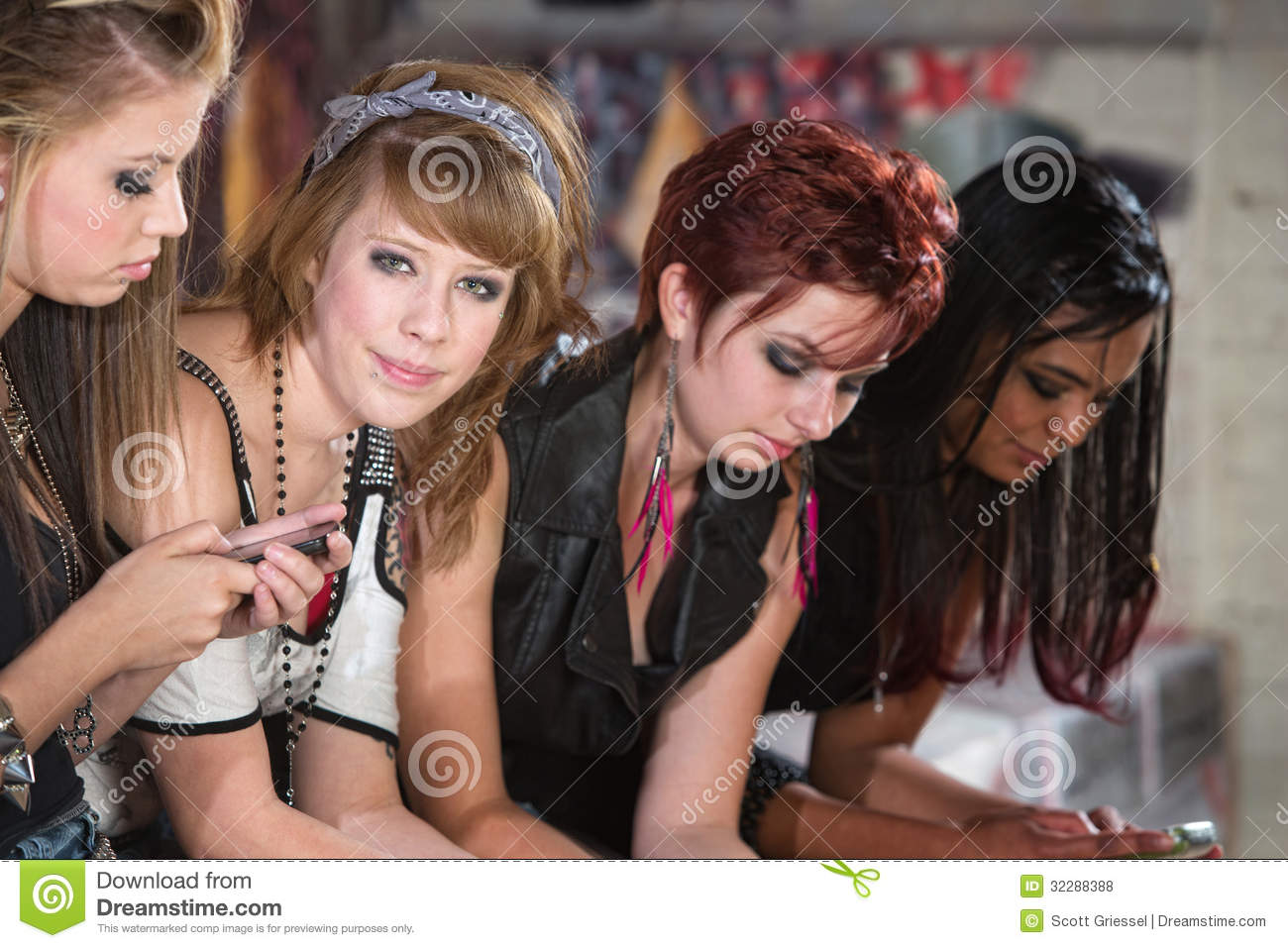 Cute Teenagers four cute teenagers royalty free stock photos - image: 32288388