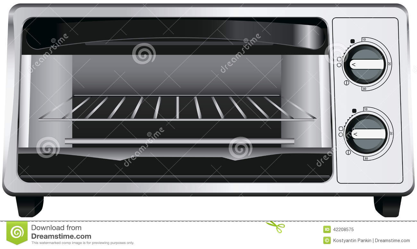 four de grille pain illustration de vecteur image 42208575. Black Bedroom Furniture Sets. Home Design Ideas