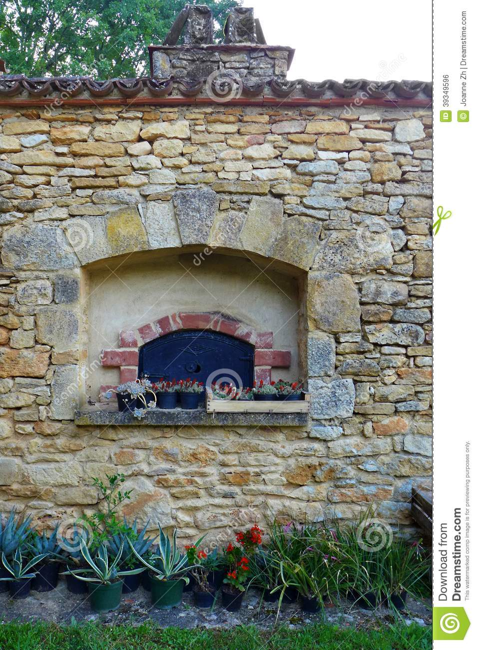 Four en pierre de style ancien campagne de frances photo stock image 3934 - Four encastrable style ancien ...