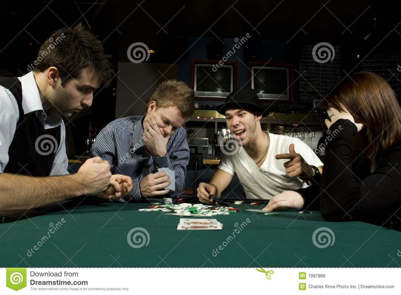 playing poker with friends Given the number of new young players going to poker rooms with mates   friend as any other opponent, you shouldn't play on the same table.