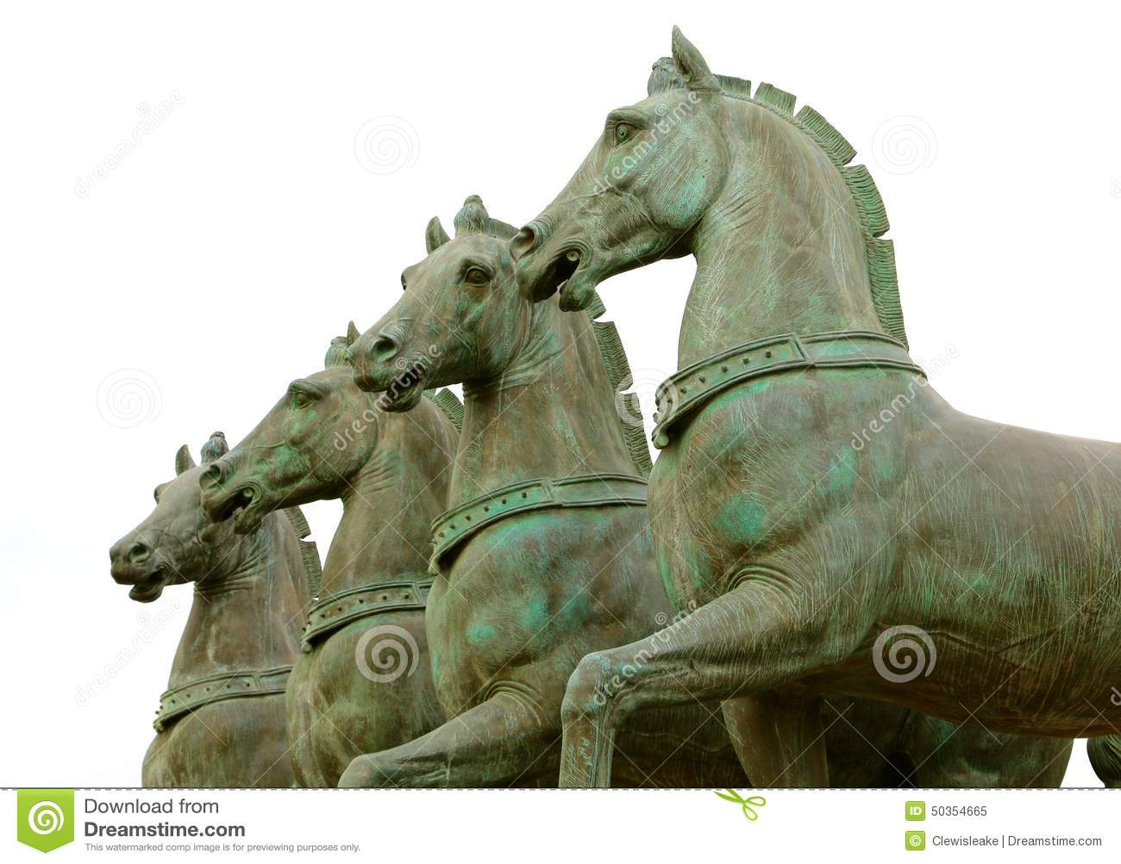 Horse Statues Horse Figurine Running Bronze Horse
