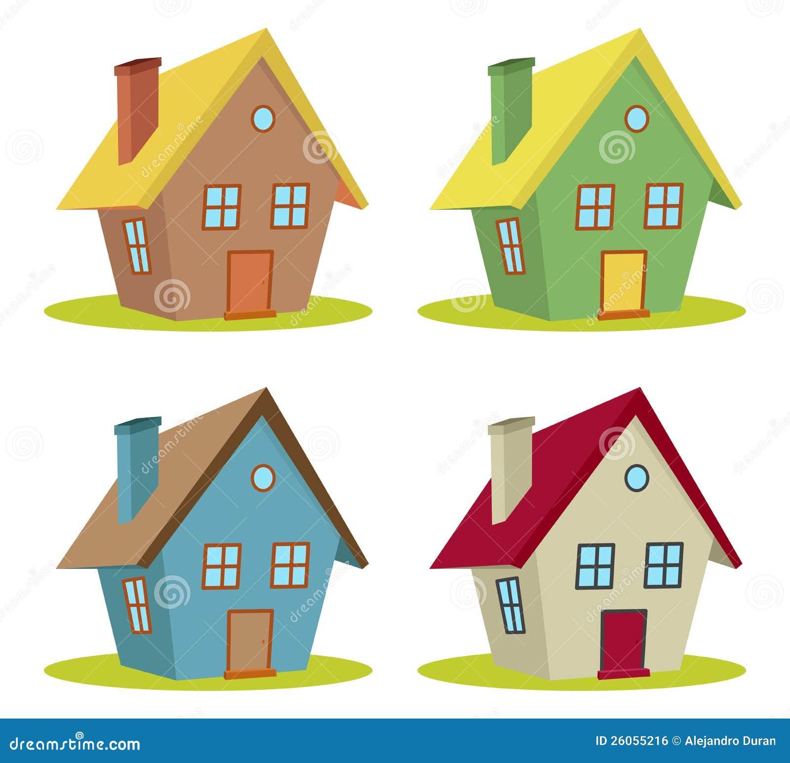 один разноцветные домики картинки для детей коштує недешево