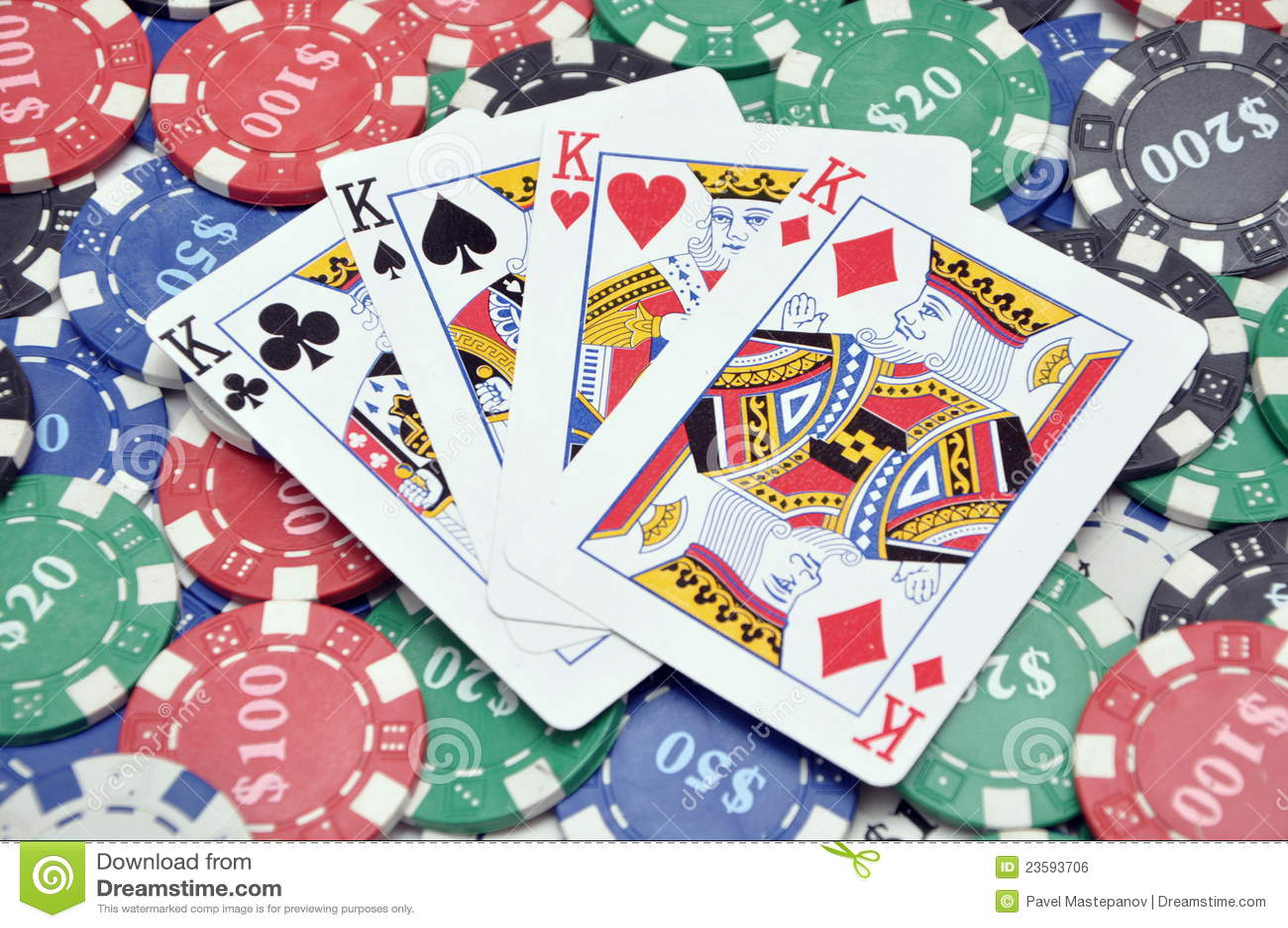 4 kings poker