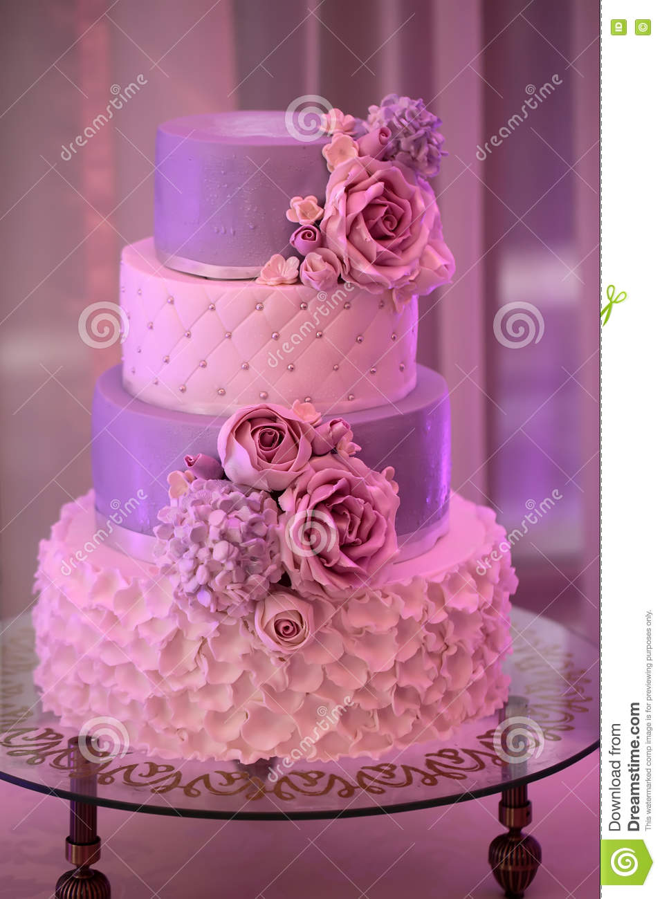 how to make layered wedding cake four layer wedding cake stock photo image of event 15970