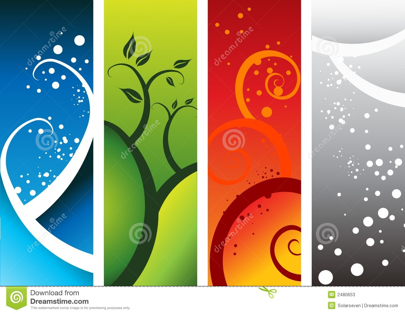 Royalty-Free Stock Photo. Download Four Natural Elements ...