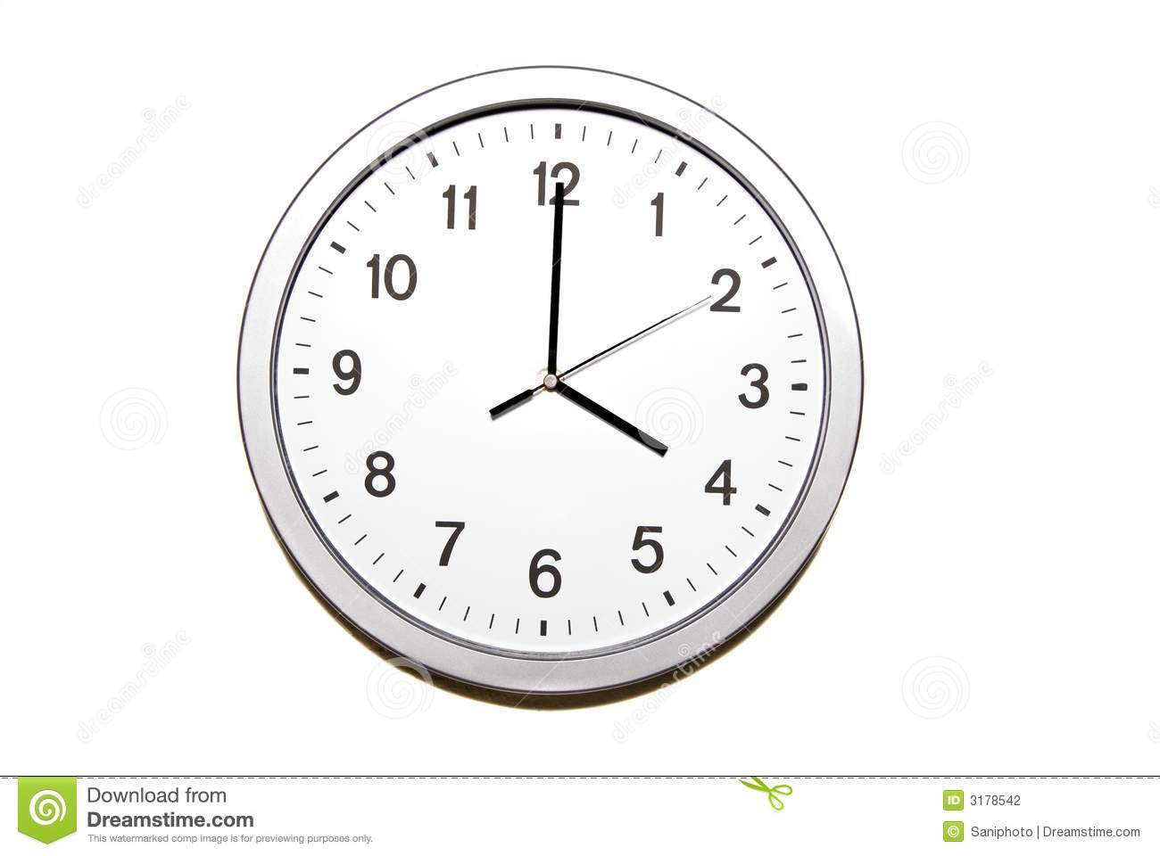 Four O Clock Stock Photo Image Of Isolated Object