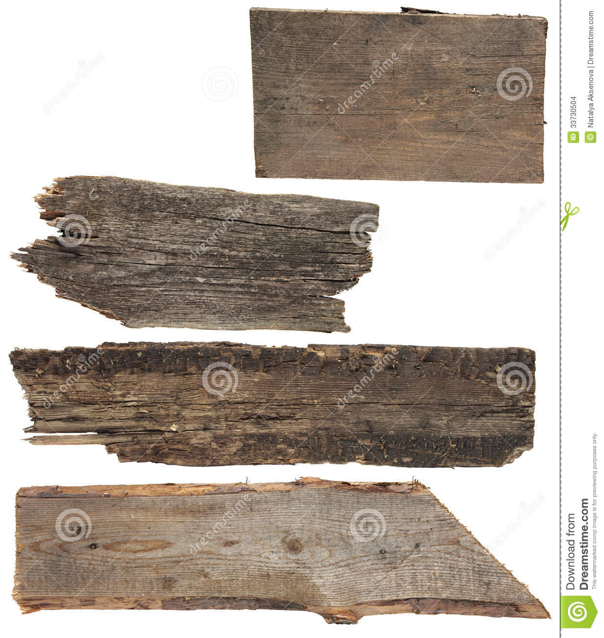 Four old wooden boards wood plank stock photo image of