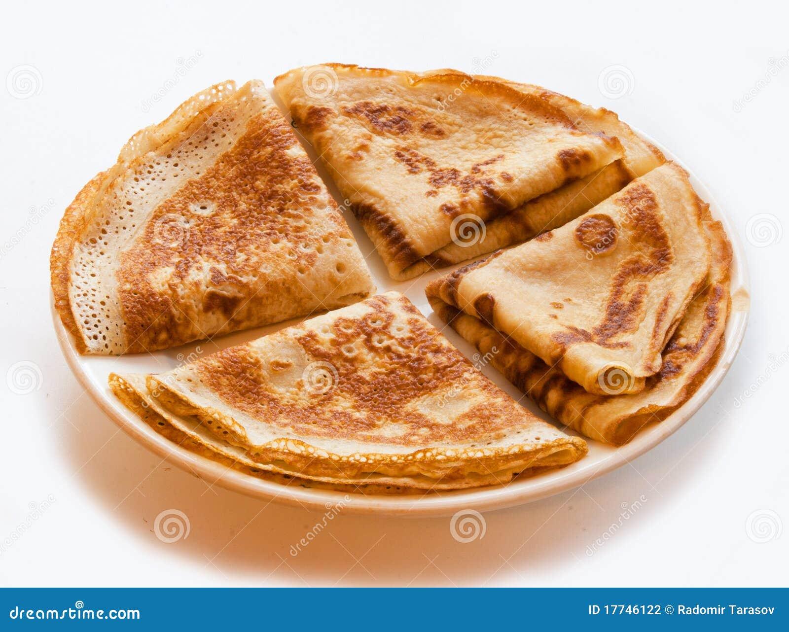 The four pancakes