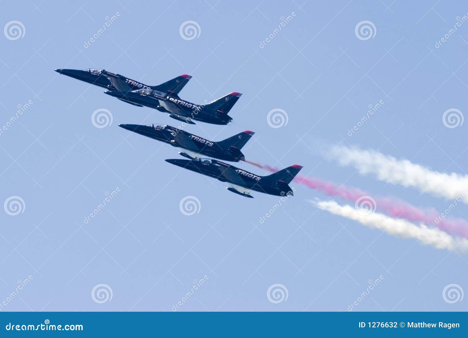 Four Patriot Jets