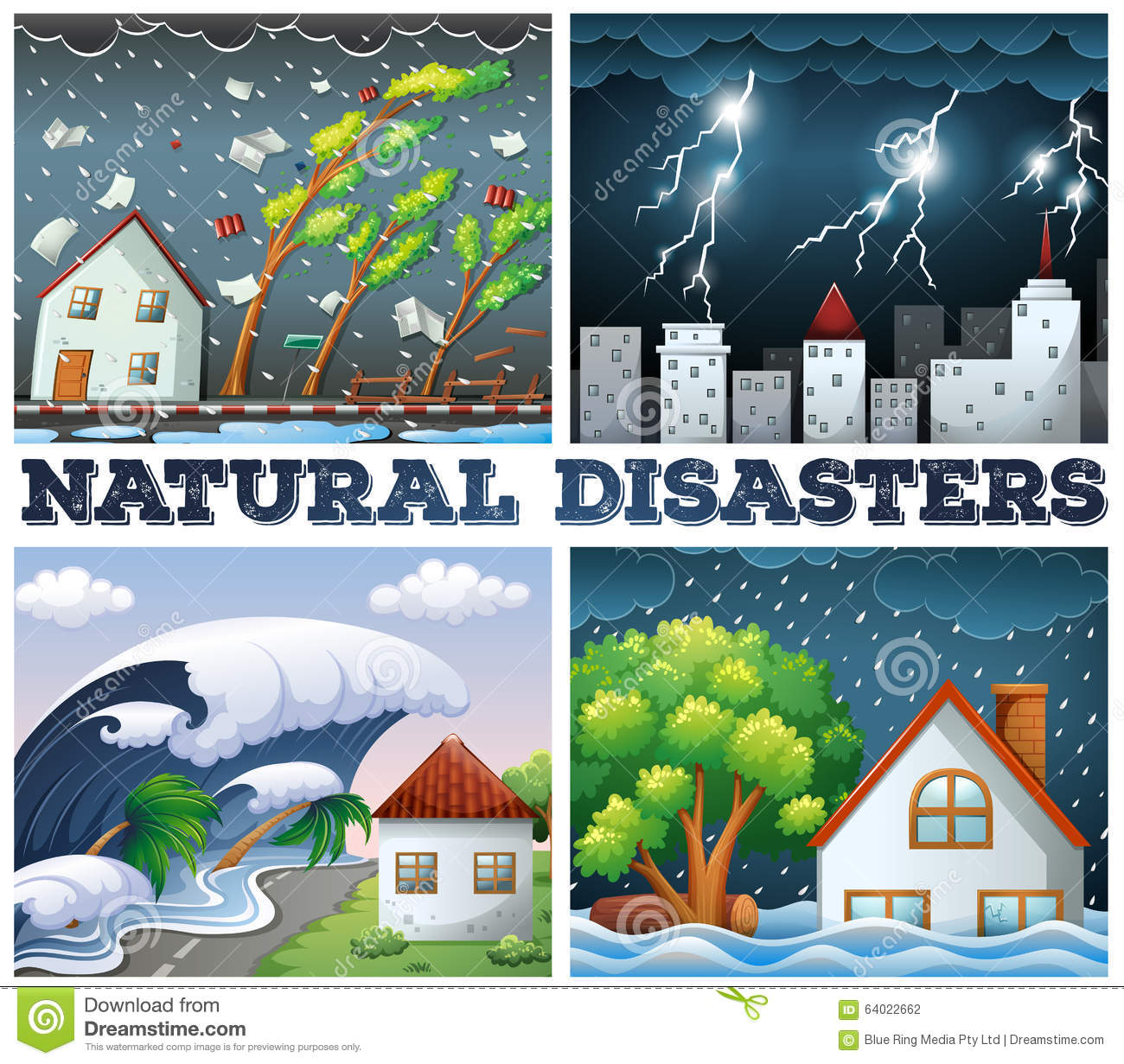 About Natural Disasters For Kids